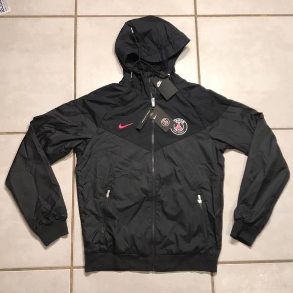 Importancia Aumentar Manual  Nike Jackets & Coats | Nike Paris Saint Germain Windrunner Hoodie Jacket |  Poshmark